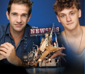 Dan De Luca and Ben Cook from Newsies
