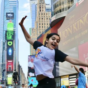 Suri Marrero plays Young Nala in The Lion King on Broadway
