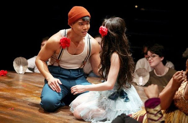 Telly Leung in Godspell