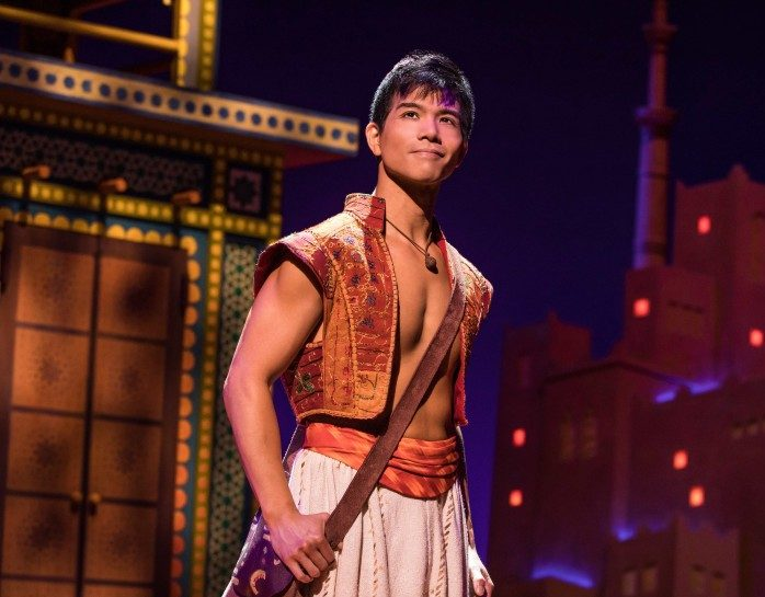 Telly Leung as Aladdin